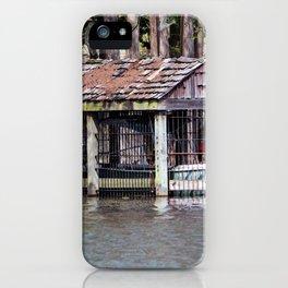 Canoe Shed iPhone Case
