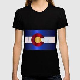 State Flag Of Colorado T-shirt