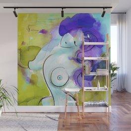 Abstract Nude Goddess 11f by Kathy Morton Stanion Wall Mural
