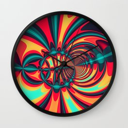 Focus Point Wall Clock