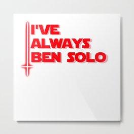 Ben Solo Metal Print