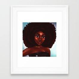 Rock that fro' Framed Art Print
