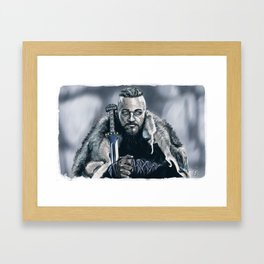 King Ragnar Framed Art Print
