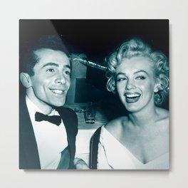 Al Martino and Marilyn Monroe Metal Print