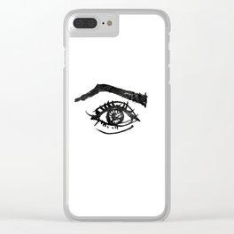 eye #1 Clear iPhone Case