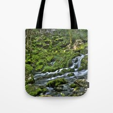 Natural Stream Tote Bag