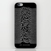 joy division iPhone & iPod Skins featuring Joy Division by Abrian Sabo