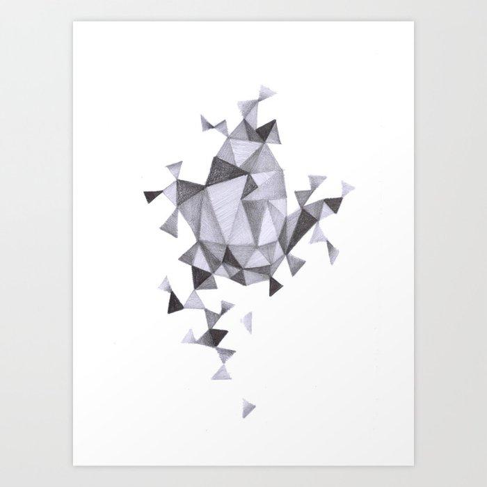 construccion Art Print