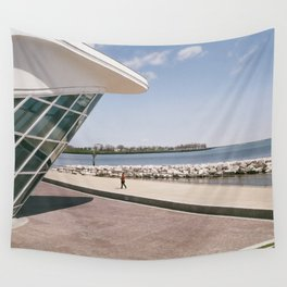 Milwaukee Lake Front Wall Tapestry