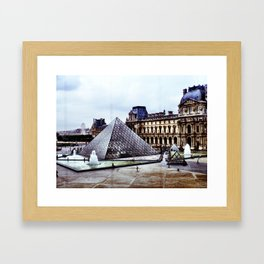 from the inside, looking out Framed Art Print