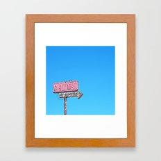 Drugs, 1/2 Block Framed Art Print