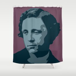 Lewis Carroll Shower Curtain