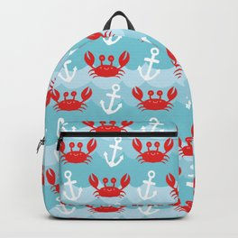 Anchor's Away Crab Backpack