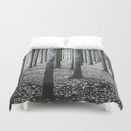 Coma forest Duvet Cover