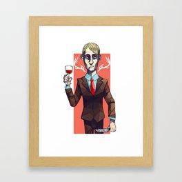 Hannibal Lecter Framed Art Print
