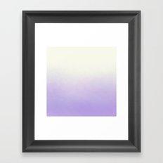 Excuse me while I kiss the sky  Framed Art Print
