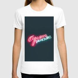 NEON OPEN 24 HOURS T-shirt