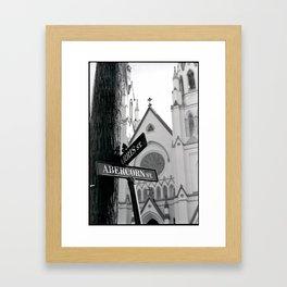 Abercorn Framed Art Print