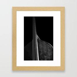 Bass 5 Framed Art Print