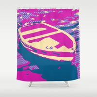 boat Shower Curtains featuring Boat by DistinctyDesign
