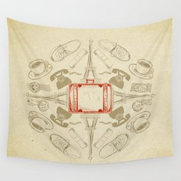 The Suitcase Wall Tapestry