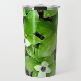 Canadian bunchberry Travel Mug