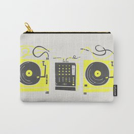 DJ Vinyl Decks And Mixer Carry-All Pouch