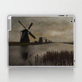 Windmills at Kinderdijk Holland Laptop & iPad Skin