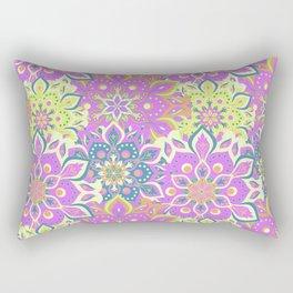 Colorfull Mandala Rectangular Pillow
