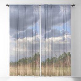 Thunder Sky Sheer Curtain