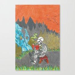 Solid-tude Canvas Print