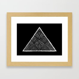 Root Two Triangle  Framed Art Print