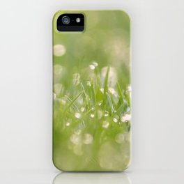Microcosmos iPhone Case