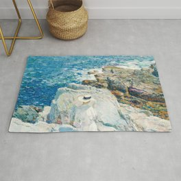 Childe Hassam The South Ledges Appledore Rug