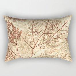 Warm Seaweed Pattern Rectangular Pillow
