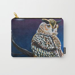 Owl Coat - Ugla Skyrta Carry-All Pouch