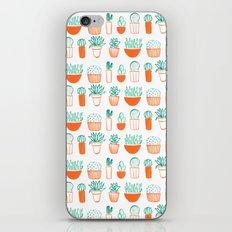 cacti pattern iPhone & iPod Skin
