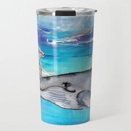 Mom and Baby Whale Travel Mug