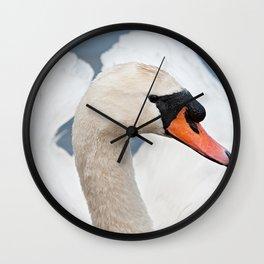 Beautiful Swan Wall Clock