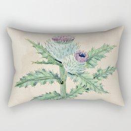 Downy thistle Rectangular Pillow