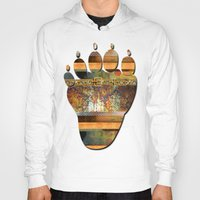 western Hoodies featuring WESTERN GOLD by INA FineArt