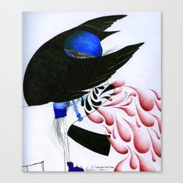 Death. Canvas Print