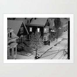 Black & White (4 of 7) Art Print