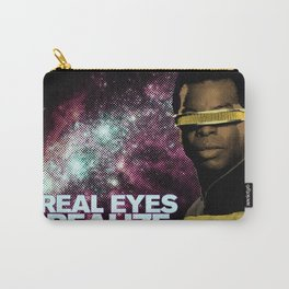 Geordi: Real Eyes Realize Carry-All Pouch