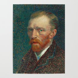 Vincent van Gogh - Self-Portrait, 1887 Poster