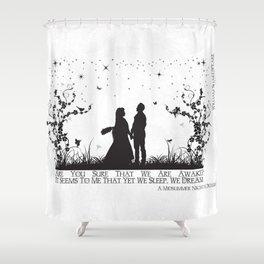 A Midsummer Night's Dream Shower Curtain