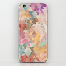 Soft Mini Triangles iPhone & iPod Skin