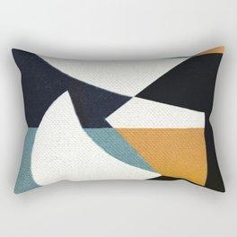 Dangerous Buffaloes Rectangular Pillow