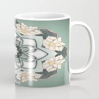 teal Mugs featuring Teal by Laurkinn12