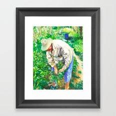 Squantz Framed Art Print